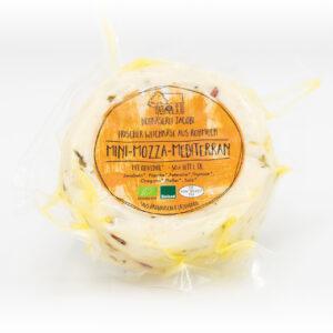 Mini-Mozza mit mediterranen Kräutern