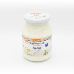 Schrozberger Natur Joghurt 3,5 % 500g-Glas