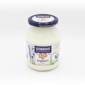 Söbbeke Joghurt Natur 3,5% stichfest 500g-Glas