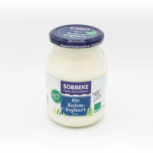 Söbbeke Rahmjoghurt 10 % 500g-Glas