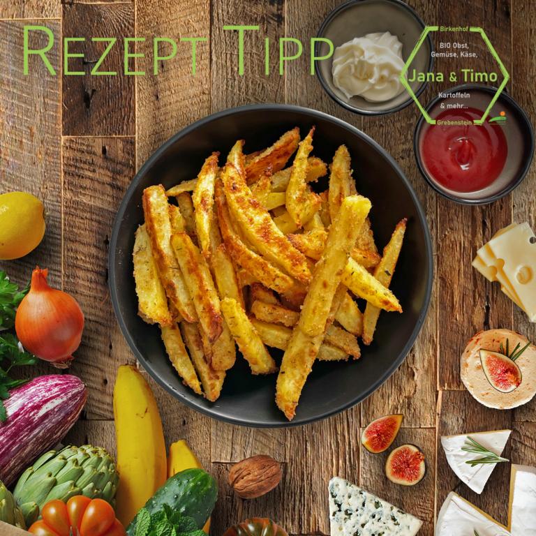 Rezept Tipp: Pommes | vegetarisch
