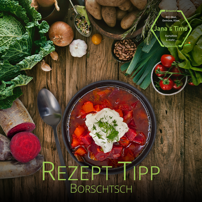 Rezept Tipp: Borschtsch | vegetarisch