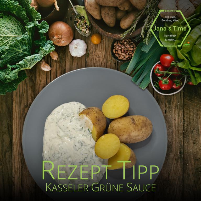 Rezept Tipp: Kasseler Grüne Sauce | vegetarisch