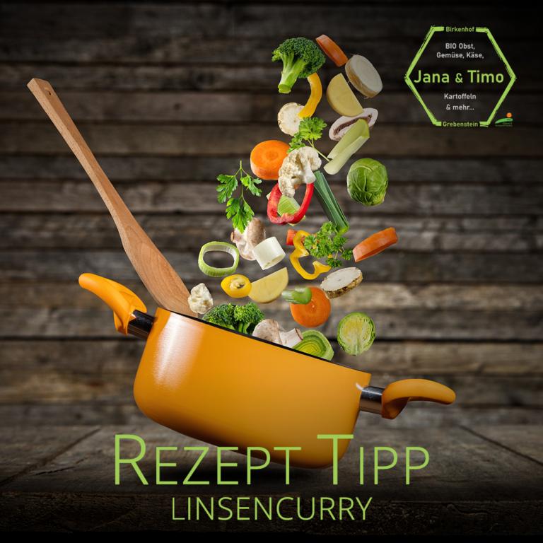 Rezept Tipp: Linsencurry | vegan