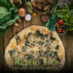 Rezept Tipp: Nordhessische Käsepizza | vegetarisch – auf Wunsch
