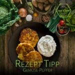 Rezept Tipp: Gemüse-Puffer | vegetarisch