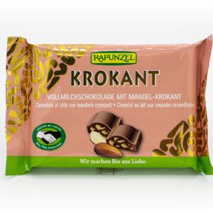Vollmilch Krokant Schokolade mit Mandelkrokant HIH